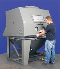 abrasive blasting equipment econoline blast cabinet